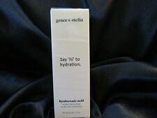 "Grace & Stella ""Say Hi to Hydration� Hyaluronic Acid Hydrating Serum 1.7 oz-New"