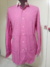 Polo by Ralph Lauren - Camicia uomo rosa Regent Custom Fit - Mis. 16 1/2 - 32/33