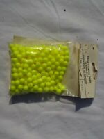 YELLOW FISHING BEADS 8mm X 250