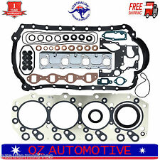 Holden Rodeo Jackaroo 4JB1-T Diesel Engine Full Gasket Kit, UBS55, TFR55, TFS54