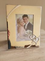 Lenox True Love 5x7 Silver Wedding Picture Photo Frame