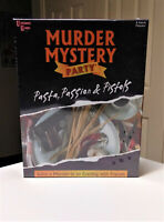Murder Mystery Party Pasta Passion & Pistols Dinner Party Game Sealed