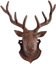 Stags Reindeer Head Wall Mount Decoration Hunting Country Art Hanger Home Garden