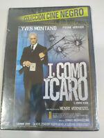 I como Icarus Yves Montand Ennio Morricone DVD Regione 2 Spagnolo Francese Nuovo