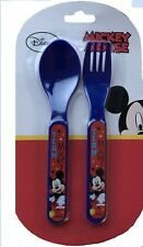 Disney Mickey Mouse Cutlery Set Fork and Spoon