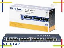 Netgear 16 Port Switch GS116GE NEUWARE Gigabit 1000MBit 16 fach Desktop 16x