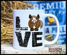 LOVE Horse Equestrian Coffee Mug 11oz Cup by Farm Wear