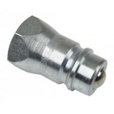"8010-4 Hydraulic male tip only - 1/2"" Nptf Tisco quick coupler end"