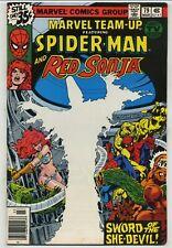 Marvel Team-Up 79 Red Sonja High Grade