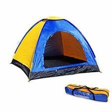 Tenda Da Campeggio Canadese 2 Posti Persone Con Zanzariera Mare Campeggio Estate