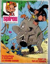 SPIROU N°    2079  de 1978  BE sans SUPPLEMENT