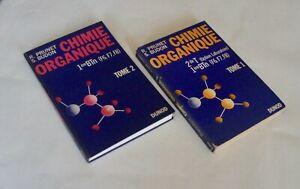 chimie organique R. Prunet S. Budon seconde première F TOME 1 ET 2 DUNOD
