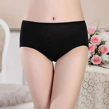 Women Menstrual Period Leakproof Physiological Pant Briefs Seamless Panties Rose Red M