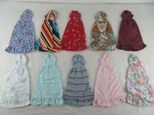 Lot Of 10 Vintage 1970s, 80s  Barbie Doll Dresses Clothes Handmade