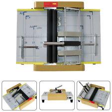 A3 Book Binder Folder Book Staple Binding Machine Paper Folder Puncher 60w Usa
