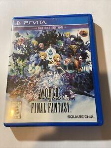 World Of Final Fantasy (Sony Playstation PS Vita, 2016) - Day One Edition