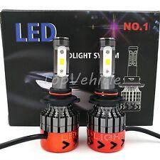 2017 New 400W 40000LM 9006 CREE LED Headlight Conversion Kit Beam Bulb 6000K 2pc