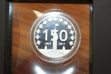 1867-2017 2 oz CANADA 150 STRONG.PROUD.FREE SILVER ROUND SOLD OUT 400 ISSUED