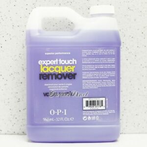 32 oz 960ml OPI GelColor Expert Touch Gel Remover ARTIFICIAL NAIL REMOVER 32oz