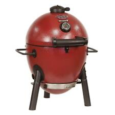 Char-Griller Akorn Kamado Kooker Jr. Charcoal Grill Bbq Barbecue Outdoor Red New