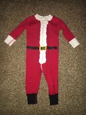 Infant Boys Hanna Andersson Santa Sleeper Christmas Pajamas 60 6-9 Months  NWOT d3ea31db9