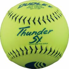 """Dudley 12"""" Thunder Sy Classic M Usssa Slowpitch Softball"""