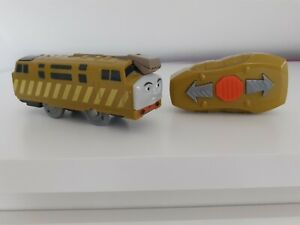 VINTAGE Thomas and friends remote control Diesel 10 trackmaster train.