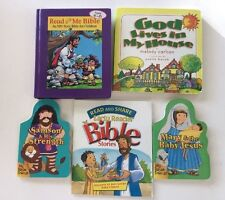 2 Children's Our Together-time Bible: Read and Share & My First HYMNAL Songs