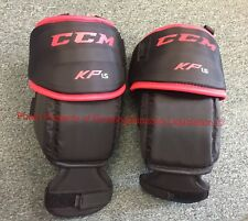 CCM Goalie KP1.5 Knee Pad Guards ! Senior SR Ice Roller thigh guard Goal