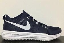 NWT Nike Mens Lunar TR1 TB Trainer Running Shoes- BlueWhite #653469-410- Sz-17