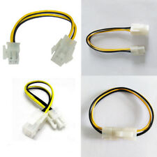 1PC DIY ATX Male to 4Pin Female PC CPU Power Supply Extension Cable Cord Adapter
