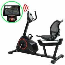 vidaXL Ligfiets met App 10 kg Roterende Massa Hometrainer Trainingsapparaat