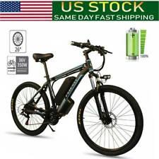 CLIENSY 26''Electric Mountain Bike Bicycle Shimano36V Lithium Battery350W E-Bike