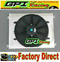 Aluminum Radiator Shroud +12V Thermo Fan for HOLDEN Commodore VN VG VP VR VS V6