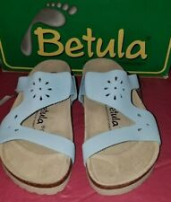Betula by Birkenstock Women's  Light Blue Sandals -Eur 37 -US 6- New With Box