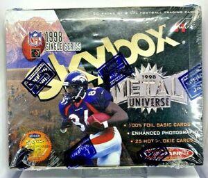 1998 NFL Fleer Skybox Metal Universe Retail Sealed Box - 20 Packs