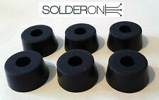 6Pcs 24mm Rubber Feet Round Bolt On Mounting Feet - AU STOCK