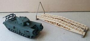 Matchbox  Churchill A.V.R.E. Bridge Laying Tank Ref. no. PK-177 1:76 scale.