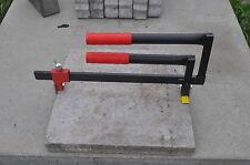 Verbundsteinzieher - BIS 520 mm - Steinzieher - Pflasterzieher - Pflastersteine