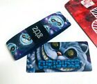 ZOX *CURIOUSER** Silver Strap med Wristband w/Card New Mystery Pack Cheshire cat