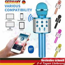 Bluetooth Mikrofon Tragbares Handmikrofon für Kinder und Erwachsene Karaoke DE