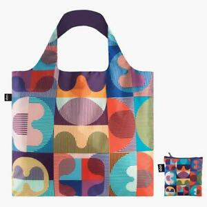 LOQI Reusable Grid Tote Bag (by Hvass & Hannibal) comes with a zipped pouch