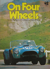 On Four Wheels magazine Issue 42 featuring Art Arfons green monster, Gregoire
