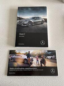 Notice Manuel Guide D'utilisation Français Mercedes Classe C (Type 205) Phase 1