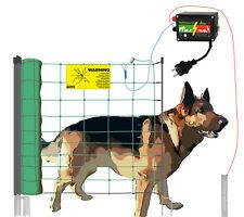 "Hunde-Set ""DogFence"" 50m Elektrozaun für Hunde Hundezaun Gartenzaun Katzenzaun"