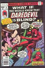 WHAT IF 8 - The World Knew that DAREDEVIL Is Blind!  VF+  (8.5)  GIL KANE Cover!