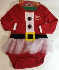 Baby Girl Christmas Tutu 6-12 Mo SANTA's LITTLE HELPER Holiday Outfit ADORABLE
