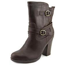 Botas de mujer de tacón alto (más que 7,5 cm) de color principal marrón talla 37