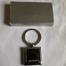 More details for new order heavy silver metal keyring new boxed power sirens movement technique
