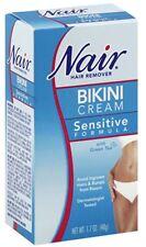 Nair Hair Remover Bikini Cream With Green Tea Sensitive Formula 1.70 oz (2 pack)